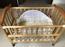 سرير أطفال فاخر مزدوج