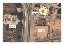 قطعة ارض تجارية خدمية 1000 متر مربع داخل المخطط العام للبيع