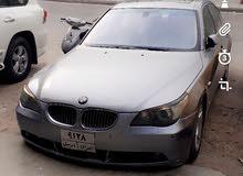 BMW e60  للبيع او مراوس بكوري 2004