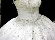 فستان زفاف فكتوري فخم