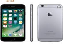 ايفون 6 عادي 64 جيجا اصلي مجدد