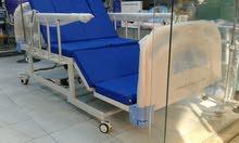 سرير طبي كهربائي مع تواليت ، سرير يدوي ، كهربائي ، مولدات اكسجين