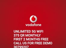 Home Wifi Vodafone Qatar 5G Speed