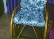 كرسي خشب جديد ولا شخط ولا كسر تعال افحصو قبل ما تشتريه