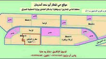 للبيع اراضي قدامي المحاربين وحي المطار ابو سعد