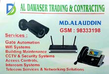 TELECOM, CCTV SECURITY and WIFI SERVICES