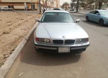 BMW 740 2000 For sale - Silver color