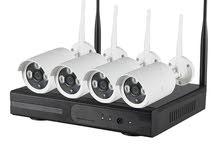 سيستم جديد 4 كاميرات مراقبة IP تعمل بمجرد توصيلها بالكهرباء