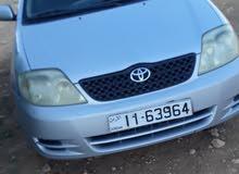 Toyota Corolla 2003 - Manual