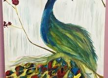 لوحة فنيه ذات الوان صيفية