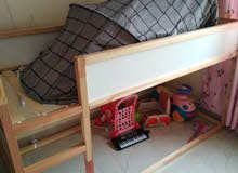 غرفت نوم كامله 2 كنبه سرير اطفال خشب
