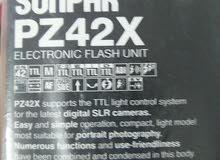 فلاش جديد لكاميرات السوني بخاصية ttlSunpak PZ42X