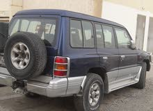 Blue Mitsubishi Pajero 1998 for sale
