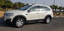 Chevrolet Captiva 2011 Pearl White color car for URGENT SALE!