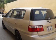 سيارة كيا كارينز موديل2006 رخصة سارية تحتاج صيانة للمكيف فقط لوحات دبي مطلوب 6500 ت/واتس