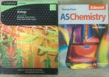 AS Biology and AS Chemistry Books Cambridge