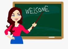 معلمة مصرية خبرة في تأسيس التلاميذ في جميع المواد من صف (1-6)