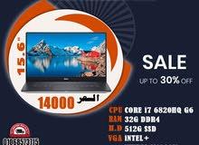 DELL PRECISION 5510 رمات : 32 جيجا DDR4 // هارد : 512 SSD M2 جيل سادس