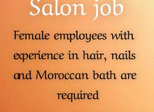salon job