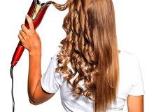 جهاز لعمل تموجات لشعر وجهاز لتثبيت وتركيب خصل الشعر للبيع بسعر مغري