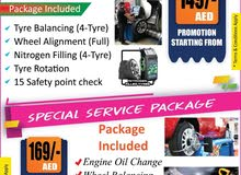 Special Car Service Package Starting from 149 Dhs