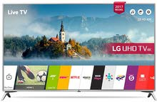 LG 43 Inch UHD Smart 4K TV - 43UJ651V