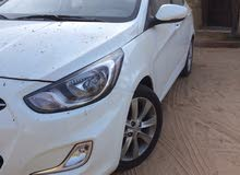 Hyundai Accent 2014 For sale - White color