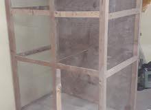قفص خشب البيع السعر125الف