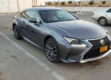 Lexus RC car is available for sale, the car is in Used condition
