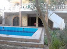 فيلا للبيع بقرية ابو تلات 200 متر مبانى على مساحة ارض 1000 متر بها 2 حمام سباحة