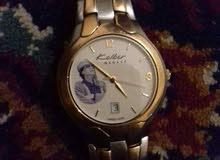 ساعة kolber geneve عليها صورة معمر القذافي