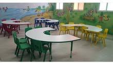 للبيع اثاث مدرس وروضات وحضانات بسعر أرخص من السوق