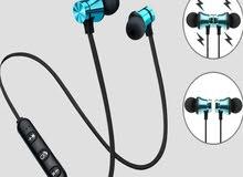 Bluetooth headphones and phone Holder