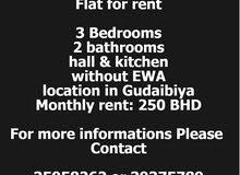 Flat For rent 3BHK in Gudaibiya