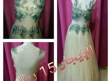 فستان سهرة جديد للبيع ب 25