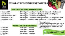 We Offer Best Home Internet Plans