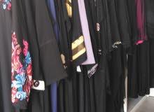 نقوم بشراء ملابس المستعمله نسائيه عبايات اسود