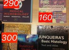 كتب طبية مستعملة بحالة ممتازة للبيع .