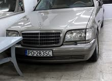 Gasoline Fuel/Power   Mercedes Benz S 320 1995
