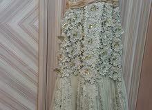 فستان ملكة او خطبة