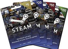 Steam Cards  بطاقات ستيم