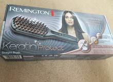 مشط فرد حراري من شركة Remingtonالالمانية الاصلي يفرد ويناعم الشعر ويجعله ملس.مع