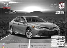 New condition Toyota Camry 2019 with 80,000 - 89,999 km mileage