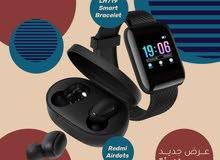 Smart Bracelet M7 + Redmi Airdots