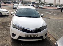 Used condition Toyota Corolla 2016 with +200,000 km mileage