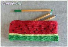 مقلمات مدرسية بالكروشي