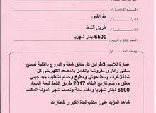 عمارة للايجار3طوابق بطريق الشط