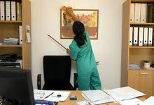 تنظيف مكاتب مؤسسات وكذا البيوت وواجهات الزجاج