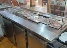 ثلاجات عرض للمطاعم