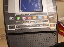 جهاز أوبتكال شبه جديد + زوج دمبلز متغير
